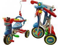 折合式三輪車
